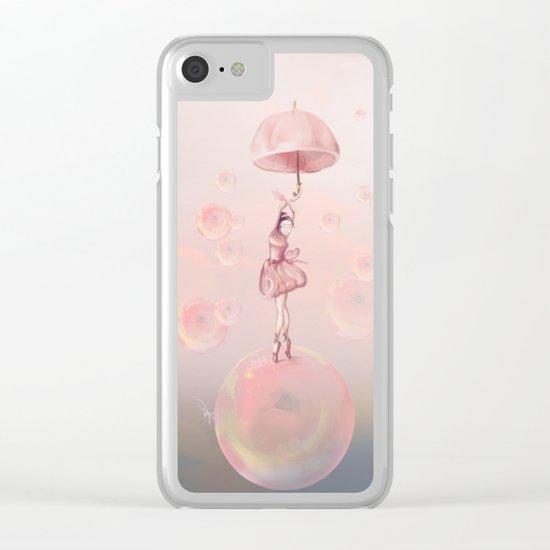 Dance in the dream Clear iPhone Case