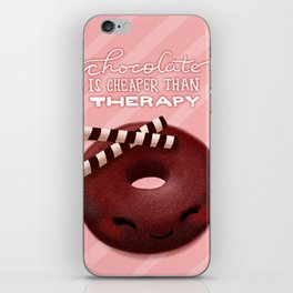 Chocolate Therapy iPhone Skin