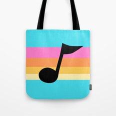 Mabel Music Note Tote Bag