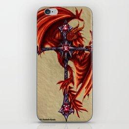 Dragon Cross Design iPhone Skin
