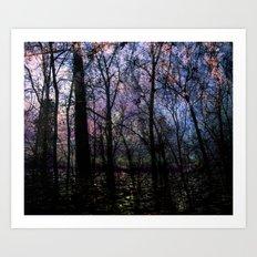 Through (variation) Art Print