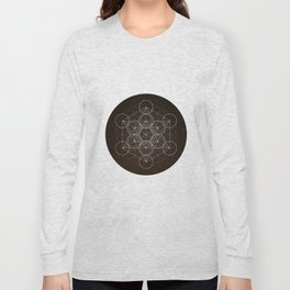 Metatrons Cube Is Out Of Space Long Sleeve T-shirt