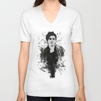 sketch V-neck T-shirts featuring Sketch by Stefano Messina