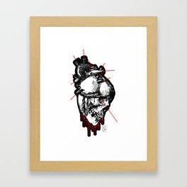 Weakened by Feelings Framed Art Print