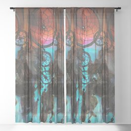 Bohemian Dreams Sheer Curtain