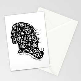 Speak Your Anger Stationery Cards