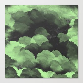 Rolling clouds Canvas Print