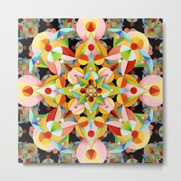 Kaleidoscope Fiesta Metal Print