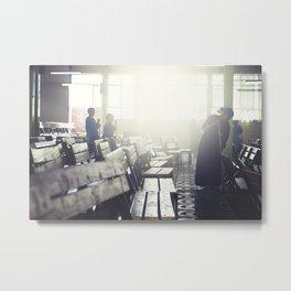 Church Light Metal Print