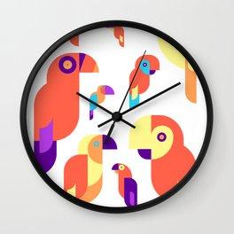 Cool Parrot Design Wall Clock