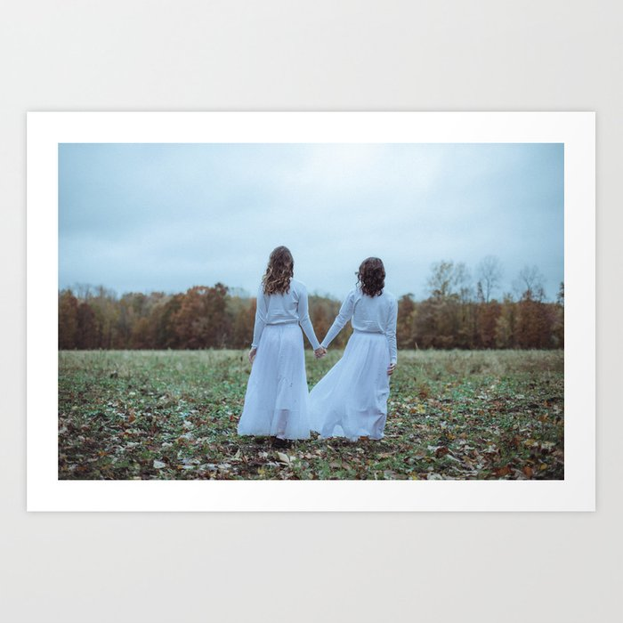 Always with you-01 Art Print