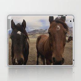 Horses Before the Storm Laptop & iPad Skin