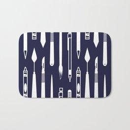 Create (dark blue version) Bath Mat