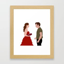 Blair and Chuck Framed Art Print