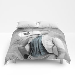Lady Megaphone Comforters
