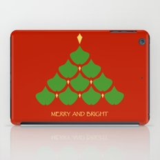 Merry and Bright Ginkgo Christmas Tree iPad Case