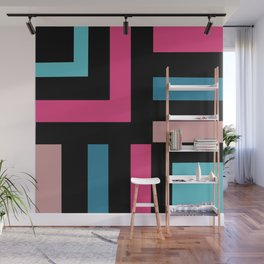 Miami Vice Called Wall Mural