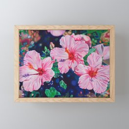 Hibiscus Framed Mini Art Print