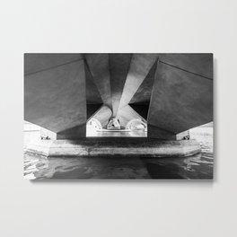 Esplanade Drive Bridge II, Singapore Metal Print