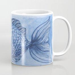 Blue Modesty Coffee Mug