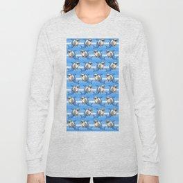 Sharky Pug Long Sleeve T-shirt