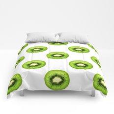 Kiwi Fruit Slice Comforters