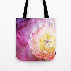 Peony Abstractions Tote Bag