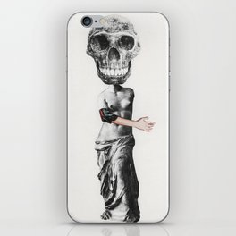 Talking with Death iPhone Skin