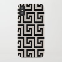 greek iPhone & iPod Cases featuring Greek Key by Charlene McCoy