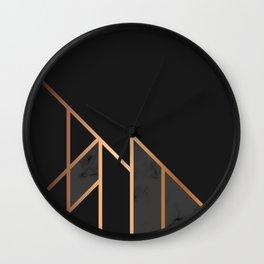 Black & Gold 035 Wall Clock