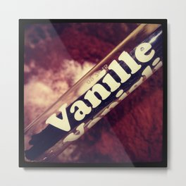 Vanilla Metal Print