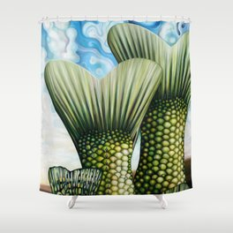 Tail Shower Curtain