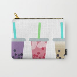 Bubble Tea Trio Carry-All Pouch