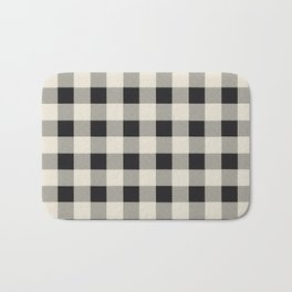 Buffalo Plaid Bath Mat