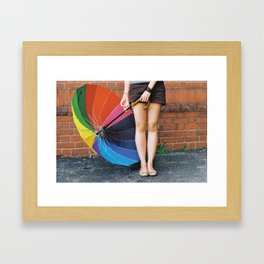 Wishul Thinking Framed Art Print