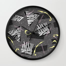 Fashion Patterns Executive Decision Wall Clock