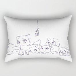 Cat's Rectangular Pillow