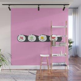 Happy Sushi! - Vector Wall Mural