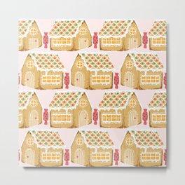 Gingerbread House-4 Metal Print
