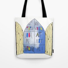 Life of a Window Tote Bag