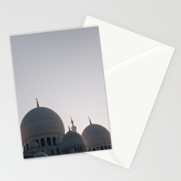 Abu Dhabi adventures; Sheikh Zayed Grand Mosque Stationery Cards
