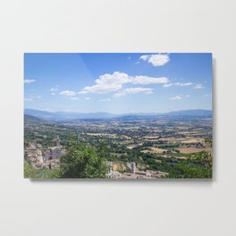 Cortona, under the tuscan sun Metal Print
