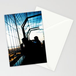 Eiffel Tower Silhouettes Stationery Cards