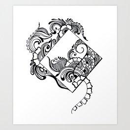 ANGLES Art Print