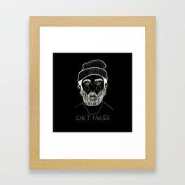 Chet Faker (Inverted) Framed Art Print