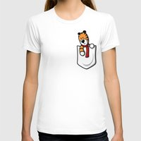 pocket T-shirts featuring Pocket Pal by adho1982