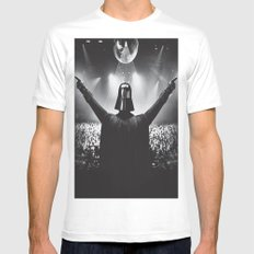 Darth Vader rocks the party White Mens Fitted Tee MEDIUM