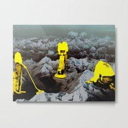 Absent Spaces Metal Print