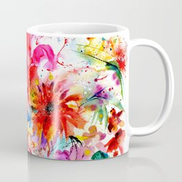 Watercolor garden II Coffee Mug