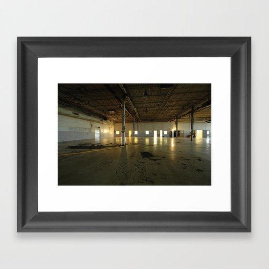 Factory Floor Framed Art Print